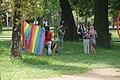Tirana pride media interview (OSCAL19 trip).jpg