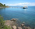 Tiritiri Matangi wharf and Tiri Kat ferry.jpg