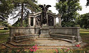 Titanic Engineers' Memorial - The memorial to the engineers of the RMS ''Titanic''