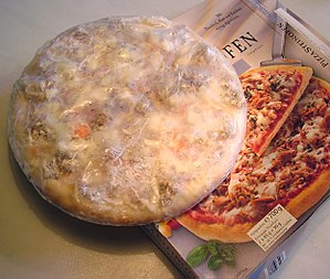 Pizza, Frozen food