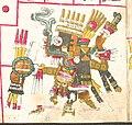 Tlaloc, God of the Rain, Thunder, Earthquakes; Codex Borgia.jpg