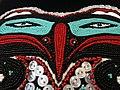 Tlingit Raven Headdress - By Karen Bien - Kwanlin Dun Community Centre - Whitehorse - Yukon Territory - Canada.jpg