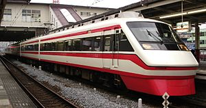 Tobu Isesaki Line - Tobu 200 series Ryomo EMU
