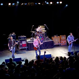 Toadies - Toadies performing in Philadelphia, PA during the Rubberneck 20th Anniversary Tour.
