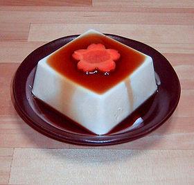 El tofu o queso de soja.