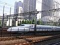 Tokaido Shinkansen & Local line shared hydro pole 02.jpg