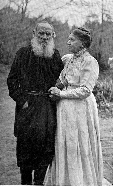 File:Tolstoy and wife 1910.jpg