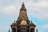 Top of Krisnna Temple, Patan.jpg