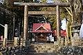 Torii of Hotaka-jinja (Kainose, Showa).jpg
