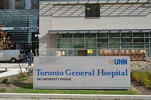 Toronto General Hospital - Toronto General Hospital main entrance