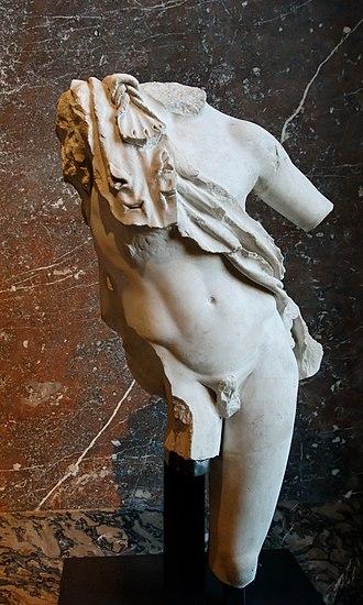 Resting Satyr - Farnese Faun, Louvre (Ma 664)