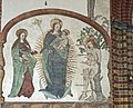 Torun fresco of the Virgin in St. Jacob church.jpg