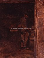 Toulouse-Lautrec - CELEYRAN, A LA CAVE, 1880, MTL.41.jpg