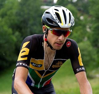 Jacques Janse van Rensburg South African cyclist