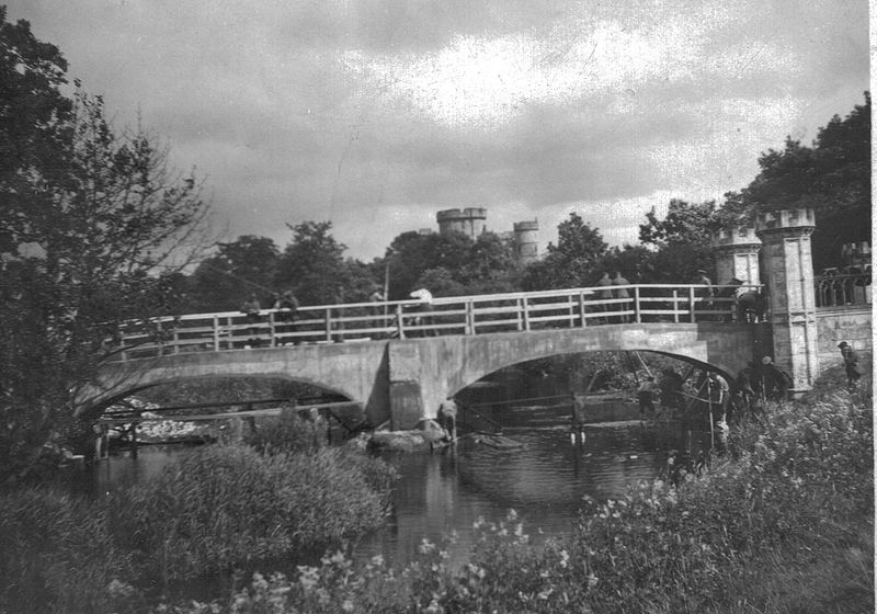 File:Tournament Bridge repaired, Eglinton Estate, Ayrshire.jpg