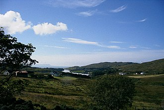 Carrick, County Donegal - Image: Towards Teelin geograph.org.uk 20648