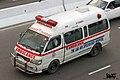 Toyota Hiace civil ambulance, Bangladesh. (29930376976).jpg