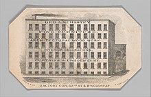 4ed4ca31c7040b George A. Schastey - Image: Trade card for George A. Schastey MET DP350973