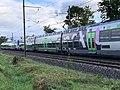 Train TER SNCF Class B 81500 Ligne ferroviaire Mâcon Ambérieu Route Prales Perrex 3.jpg