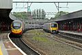 Trains, 390126 and 323235, Stockport railway station (geograph 4004991).jpg