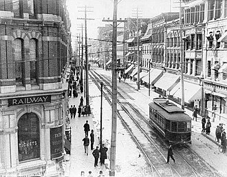 Sparks Street - Sparks Street in 1909.