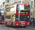 Transdev bus route 10 Oxford Circus September 2010.jpg