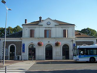 Trappes station - Image: Trappes Gare