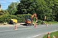 Travaux de création d'un carrefour giratoire au croisement de la D46 et de la D91 à Saint-Lambert-des-Bois le 18 mai 2015 - 6.jpg