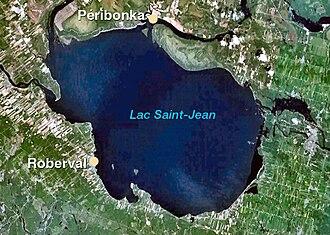 Jean de Quen - Traversée-Lac St-Jean-Québec