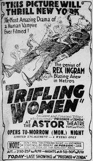 <i>Trifling Women</i> 1922 film by Rex Ingram