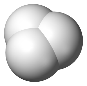 Triatomic molecule - Trihydrogen cation