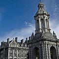 Trinity College, Dublin, Ireland (Campanile and Graduate Memorial Building).jpg