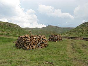 Mohale's Hoek District - Mount Moorosi