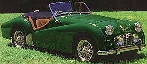 Triumph TR3 - 1955–57 Triumph TR3