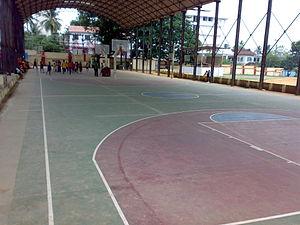 Central Stadium (Thiruvananthapuram) - Basketball court in Central Stadium