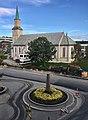 Tromsø Norway - Kirkegata Domkirken kirkeparken arbeider Richard Withs plass 2017-09-14.jpg