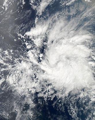 2013 Pacific hurricane season - Image: Tropical Storm Alvin 2013 05 15 2052Z