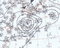 Tropical Storm Winnie August 21, 1966 surface analysis.png
