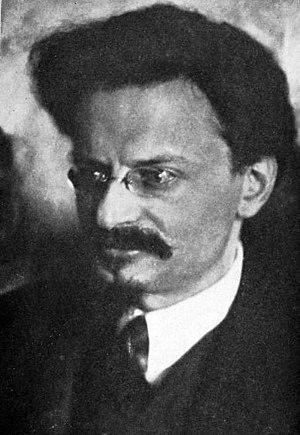 Photo of Leon Trotsky