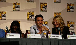 English: The True Blood panel at San Diego Com...