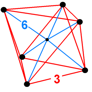 Octahedral pyramid - Image: Truncated pentacross