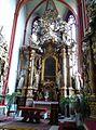 Trzebnica, bazylika pw. św. Jadwigi i św. Bartłomieja Apostoła, ołtarz w kaplicy św. Jadwigi. - Aw58(MW).jpg