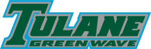 1980 Tulane Green Wave football team - Image: Tulane Green Wave wordmark