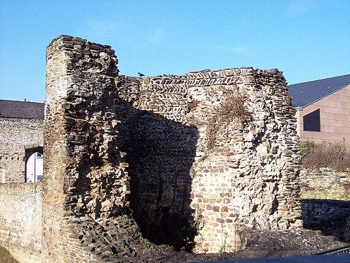 Turm 9 des römischen Kastells Boppard 2