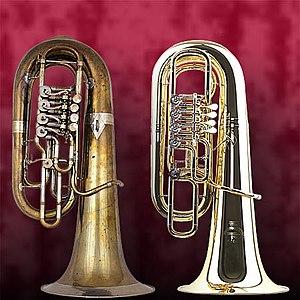 "Two F Tubas: 2004 Model Perantucci ""5099&..."