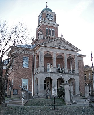 Tyler County, West Virginia - Image: Tyler County Courthouse WV