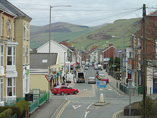 Tywyn Small coastal town in mid Wales