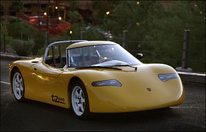 Tesla Roadster (2008) - Tzero - The proof of concept Tesla