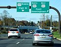 U.S. Route 322 Business (West Chester, Pennsylvania) eastern terminus from the east.JPG