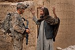 U.S. and Coalition Forces Mentor Afghan National Army in Dismount PatrolEnduring Freedom DVIDS252313.jpg